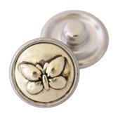 Mini chunk / click button Vlinder