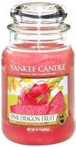 Yankee Candle Pink Dragon Fruit - Large Jar