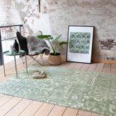 Vintage vloerkleed - Wonder Patchwork Groen 185x275cm
