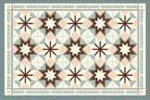 Placemats - Anti-slip - 30 x 45 cm - 4 Stuks - GRANADA PINK