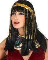 Goudkleurige Egyptische slang hoofdband voor vrouwen - Verkleedattribuut