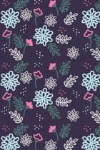 Flower Print Journal