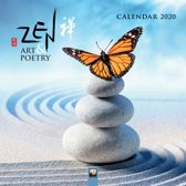 Zen Art & Poetry Wall Calendar 2020 (Art Calendar)