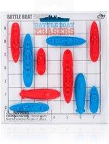 Battleboat erasers Zeeslag met potlood gummetjes