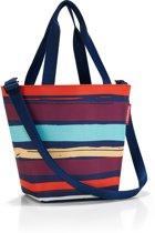 Reisenthel Shopper XS Hand / Schoudertas - Maat XS - Polyester - 4 L - Artist stripes Blauw