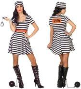 Verkleed kostuum - boeven kostuum/jurk Bonnie voor dames - carnavalskleding - voordelig geprijsd M/L (38-40)