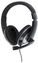 König - Gesloten Stereo Headset - Zwart