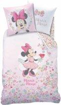 Disney Minnie Mouse Bloom - Dekbedovertrek - Eenpersoons - 140 x 200 cm - Multi