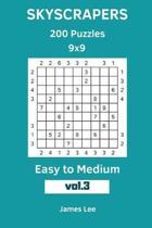 Skyscrapers Puzzles - 200 Easy to Medium 9x9 Vol. 3