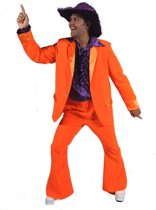 Oranje heren kostuum 60-62 (xl)