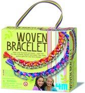 4M Crea Girl Accessories - Ketting Armband Gevlochten