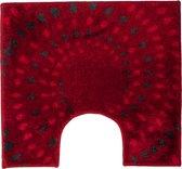 Floris Spray - WC mat - Rood - 60 x 60 cm
