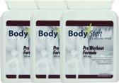 BodyStart Pre Workout Formule | VOORDEELVERPAKKING 180 Capsules | 500 mg | Krachtige dosering | Exclusieve complete pre-workout | Voor maximale prestatie