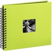 Hama  Fine Art  spiraal kiwi 28x24 50 zwarte pagina's 113682