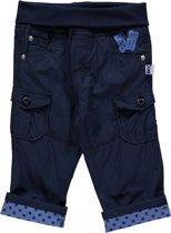 Blue Seven Jongens broek Donkerblauw - Maat 68