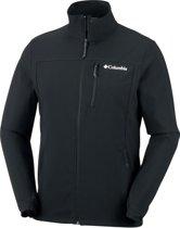 Columbia Heather Canyon Hoodless Jacket Outdoorjas Heren - Black