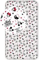 Disney Minnie Mouse New York - Hoeslaken - Eenpersoons - 90 x 200 cm - Multi