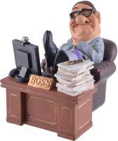 Beeldje - big - boss - manager - Warren - Stratford - baas - werkgever