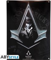 Assassin's Creed Metal Plate - Syndicate
