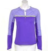 Nike Sphere Dry Long Sleeve Half - Sportshirt -  Dames - Maat L - Paars;Geel;Wit