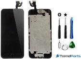 Compleet Voorgemonteerd LCD scherm Zwart + Tools + tempered glass Screen protector voor de  iPhone 6 4.7  - AAA+