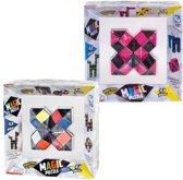 Clown Magic Puzzle 48 Dlg Multicolor + Puzzle 48dlg Roze