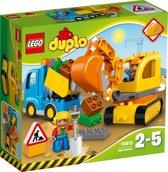 Afbeelding van LEGO DUPLO Rupsband-graafmachine - 10812 speelgoed