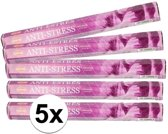 5x pakje wierook stokjes Anti Stress