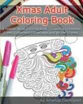 Xmas Adult Coloring Book