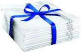 ComfortTrends Zakdoeken heren 10 stuks - 100% katoen