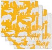 Jollein Safari Hydrofiel luier ocher (4pack)