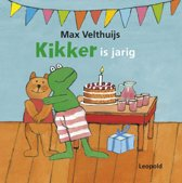 Boek cover Kikker - Kikker is jarig van Max Velthuijs (Onbekend)