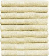 Katoenen Handdoeken Van Hotelkwaliteit – 3 Pack – 50 x 100 cm – Crème