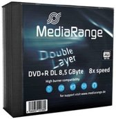 MediaRange MR465 8.5GB DVD+R DL 5stuk(s) lege dvd