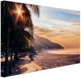 Zonsopgang Brazilie Canvas 80x60 cm - Foto print op Canvas schilderij (Wanddecoratie)