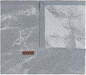 Baby's Only Marble Ledikantdeken Grijs / Zilvergrijs 100 x 135 cm