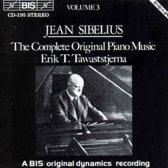 Sibelius: Complete Piano Music Vol 3 / Erik Tawaststjerna
