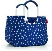 Reisenthel Loopshopper L Boodschappentas - Shopper - Maat L - Polyester - 25L - Spots Navy Blauw