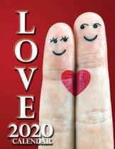 Love 2020 Calendar