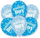 Amscan Ballonnen Birthday Boy 6 Stuks 27,5 Cm