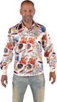 Eten & Drinken Kostuum | Glimmend Overhemd Suiker Shot Man | XL | Carnaval kostuum | Verkleedkleding