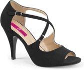 Pleaser Pink Label Hoge hakken -44 Shoes- DREAM-412 Zwart