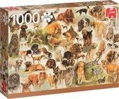 Honden Poster Puzzel 1000 Stukjes Rien Poortvliet
