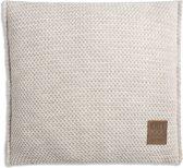 Knit Factory Maxx Kussen - Beige 50 x 50 cm