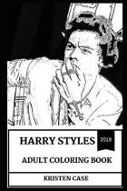 Harry Styles Adult Coloring Book