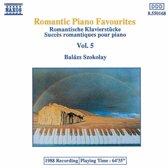 Romantic Piano Favourites Vol 5 Balazs Szokolay