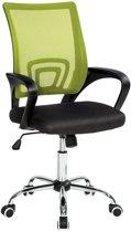 TecTake bureaustoel -  burostoel kantoor design zwart groen - 401790