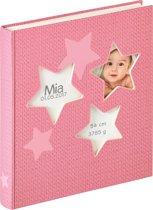 Walther Estrella - Babyalbum - 28x30,5 cm - 50 pagina's - Roze