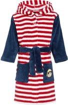 Playshoes badjas piraat marine rood