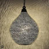 Nour Lifestyle Arabische hanglamp Uma met gaatjes - maat S